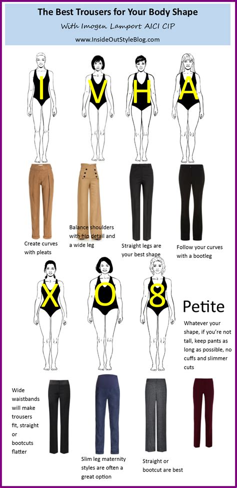 body types and shapes easy style guide to the best pants for your body shape
