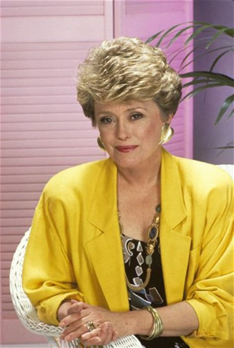 rue mcclanahan and hair blanch in golden girls hair style white gold
