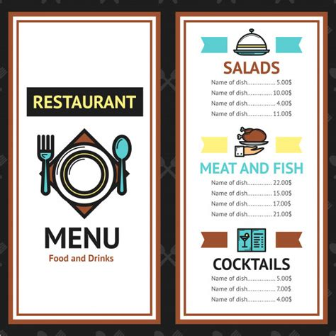 menu card template psd 68 menu card templates free psd word illustrator designs