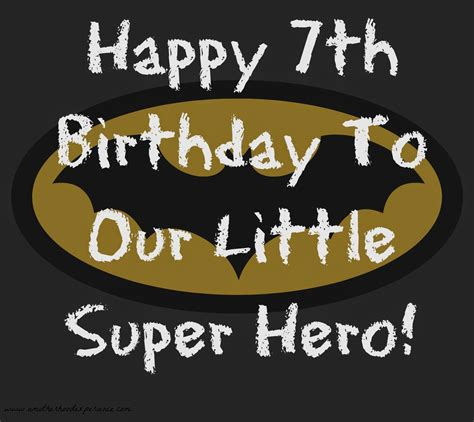 Giveaways For 7th Birthday Boy - happy 7th birthday to our little super hero a motherhood experience