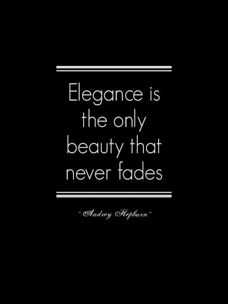 elegance definition what is