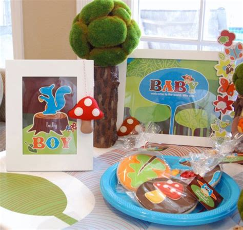 Woodland Critters Baby Shower by Bump Smitten Real Baby Shower Lil Woodland Critters Theme