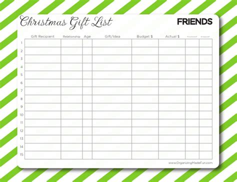 free printable gift tags from organized christmas com having an organized christmas and your free gift