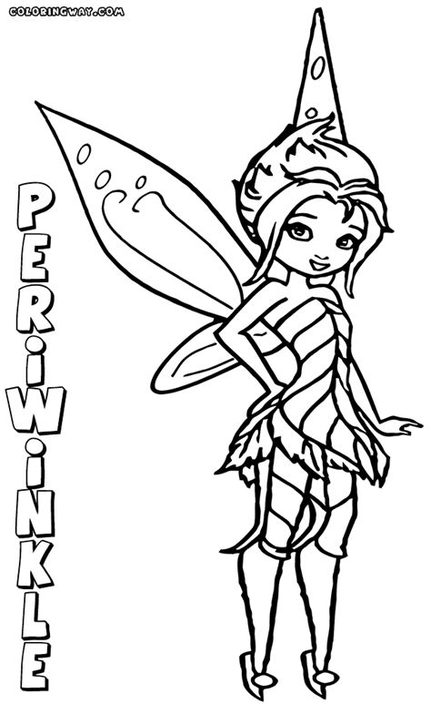 periwinkle fairy coloring pages coloring pages to