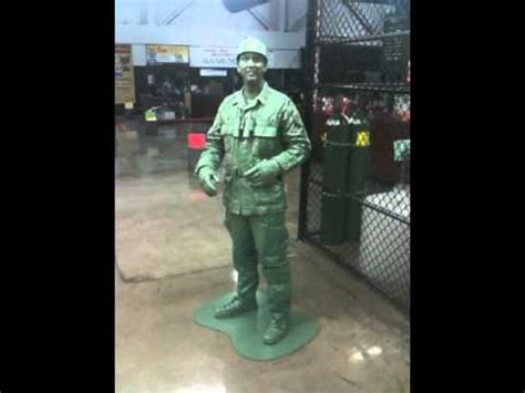 home  green toy soldier creative costume wins