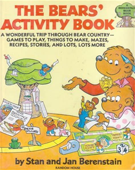 backstory how the texas textbook revision came to be the bears activity book berenstain bears wiki fandom