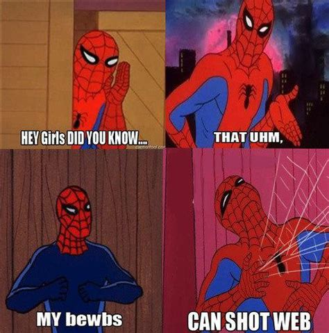 Funny Spiderman Meme - 20 hilarious 60s spiderman memes smosh funny shit
