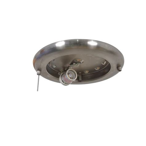 hton bay hugger 52 in brushed nickel ceiling fan replacement light for ceiling fan air cool glendale 52 in