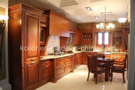 China Kitchen Cabinet Solid Wood Kitchen Cabinets Royal Solid Wood Kitchen Furniture