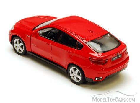 cars bmw red bmw x6 red kinsmart 5336d 1 38 scale diecast model