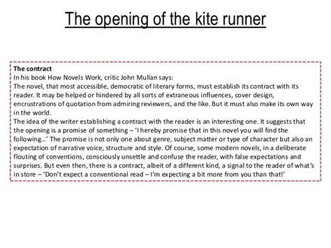 Kite Runner Revision | kite runner revision