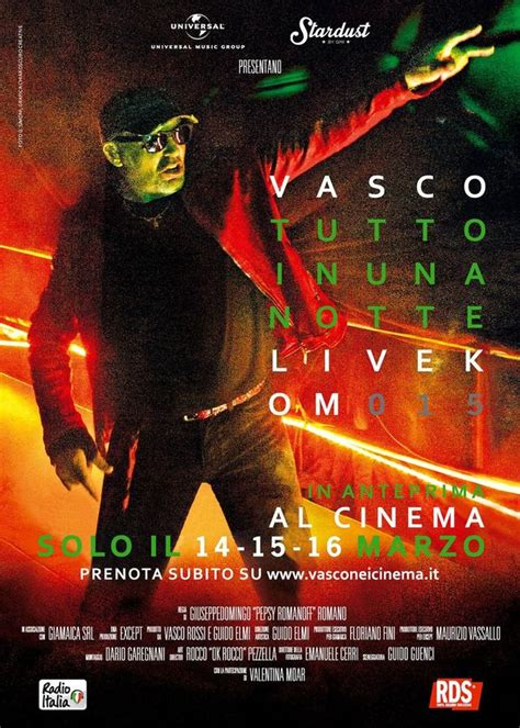vasco live kom 015 commenti vasco live kom 015 dvd documentario al cinema