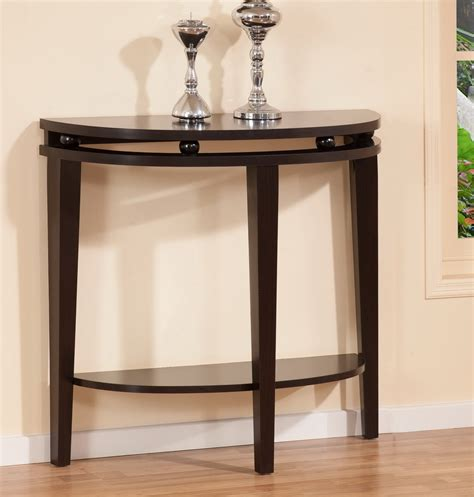 half circle entry table half moon entry table homesfeed