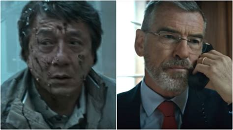 a look at pierce brosnan in the foreigner manlymovie the foreigner trailer jackie chan s ira revenge