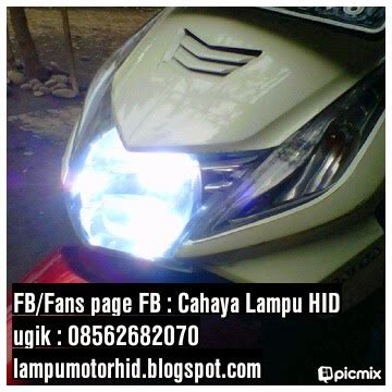 Mata Kucing Light Reflektor Merah Original Yamaha 1 cahaya lu hid juni 2013