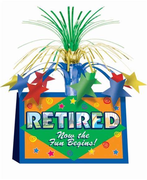 retirement supplies decorations partycheap