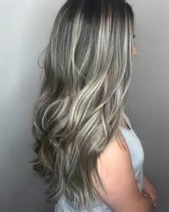black hair with grey streaks gray hair with black streaks dark brown hairs
