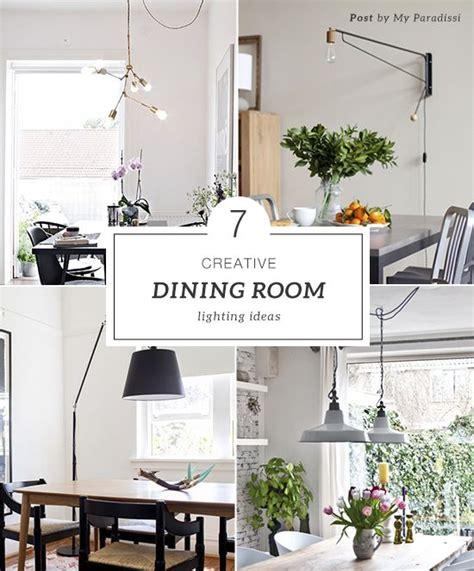 7 Creative Dining Room Lighting Ideas My Paradissi | 7 creative dining room lighting ideas