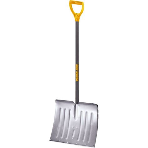 true temper 18 in snow shovel with steel handle 1641000