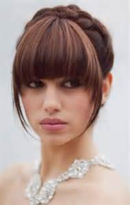 soft updo medium hair with bangs 18 things you don t know about updo hairstyles zntent