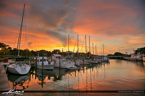 boat house marina new smyrna beach boat dock marina sunset at the bay