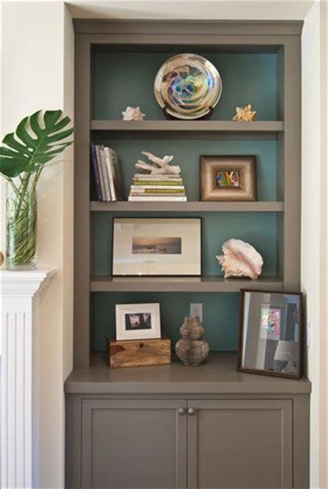 colors bookcases and on