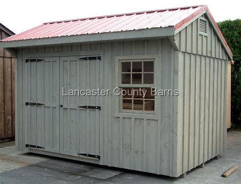 Tin Roofs For Sheds by Metal Roof Storage Sheds Metal Roof