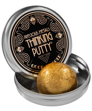 Precious Gold Buyers Gift Cards - precious metals thinking putty features the color and shimmer of metals