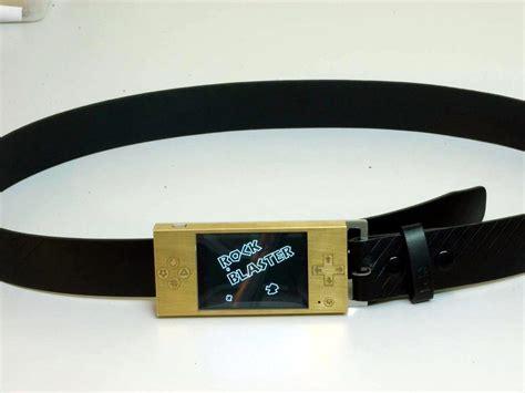 Gamis Belt asteriods the belt buckle hackaday