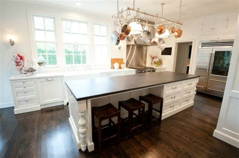 wood legs for kitchen island source munger interiors gorgeous kitchen with