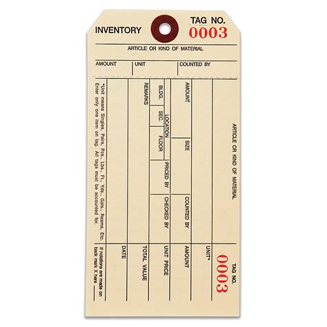 inventory labels template inventory tags 3 1 8 x6 1 4 standard inventory tag 1000 1499