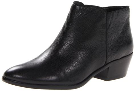 sam edelman s petty leather boot black leather 7 m