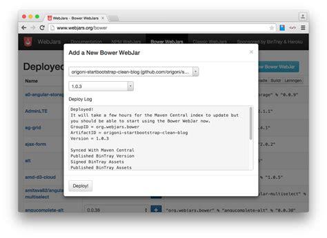 Bootstrap Themes Bower | 블로그개발 07 blog theme 적용해보기 bower webjars origoni s