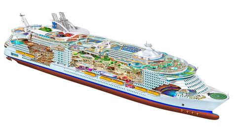 The Azure Floor Plan by Worlds Biggest Cruise Ship Oasis Of The Seas 4000x2204