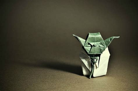 Origami Artist - this madrid based musician folds spectacularly intricate