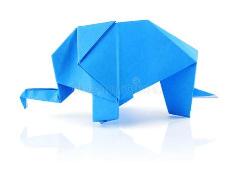 Origami Elefant - origami elephant stock image image 23392991