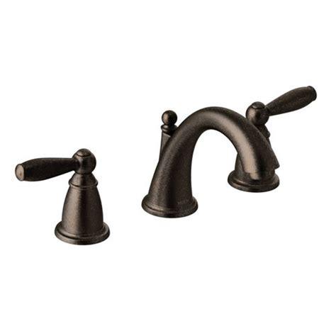 moen t6620orb brantford two handle widespread lavatory