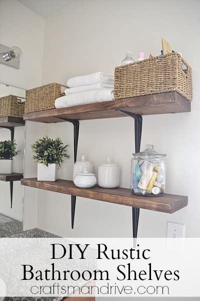 30 diy storage ideas to organize your bathroom diy