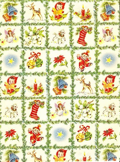printable miniature christmas wrapping paper wrapping paper