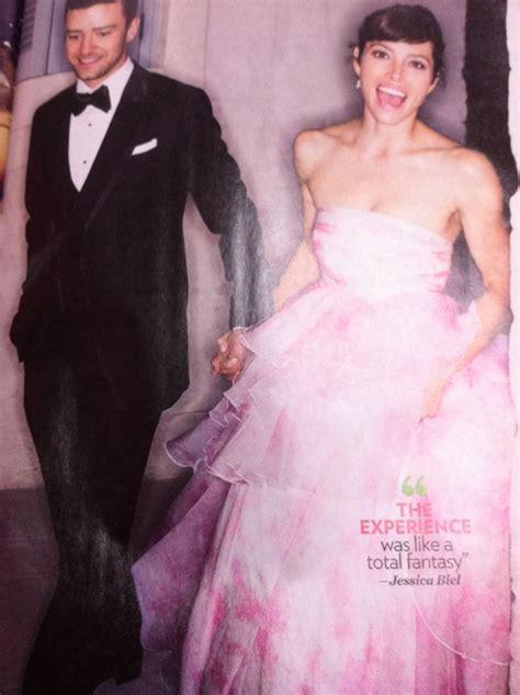 hochzeitskleid jessica biel jessica biel s pink wedding dress