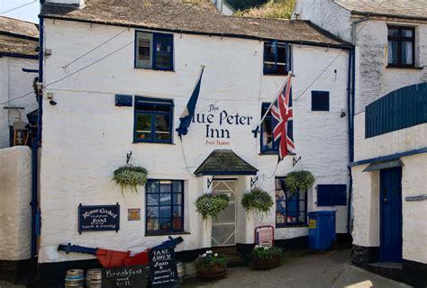 blue pub blue inn polperro cornwall guide