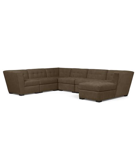 roxanne fabric 6 modular sectional sofa 2 corner