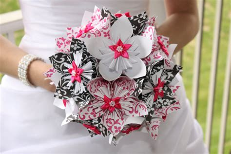Origami Wedding Bouquet - joost langeveld origami page