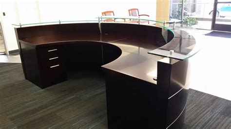 Large Reception Desk Large Reception Desk Half Circle Reception Desk