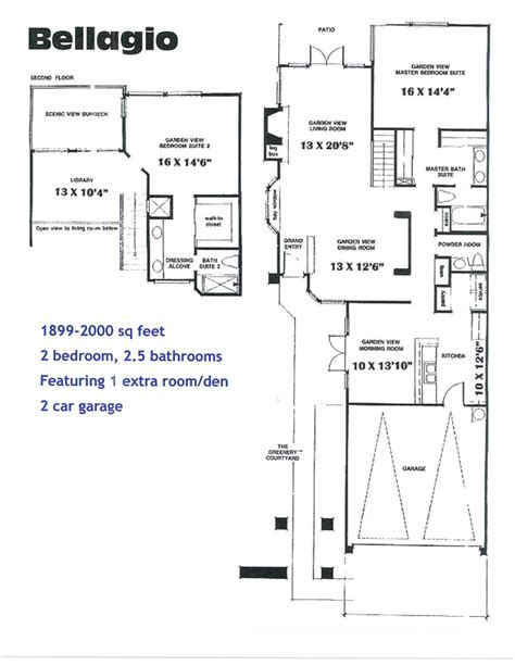 bellagio floor plan bellagio floor plan bellagio rooms suites bellagio floor
