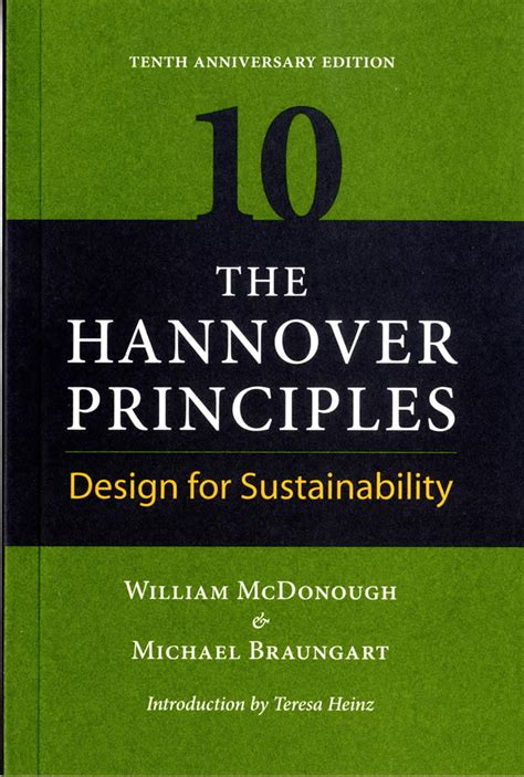 principles of design for environment hannover principles