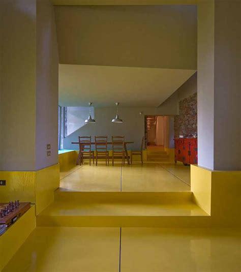 desain dapur warna kuning 8 interior rumah minimalis perpaduan warna kuning