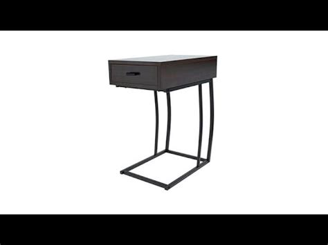 side table with usb port sei porten side table with usb port