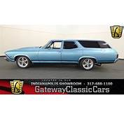 1968 Chevrolet Chevelle Wagon  Gateway Classic Cars
