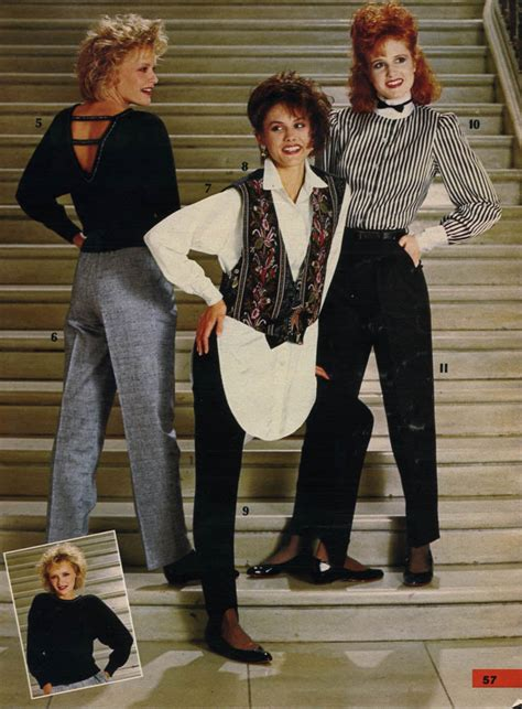 styles of 1985 fashion in the 1980s clothing styles trends pictures
